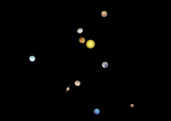 solar system planet rotations - photo #24